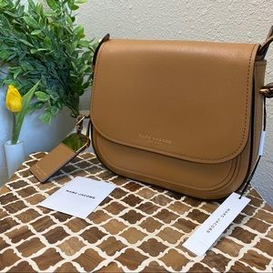 Marc Jacobs Brown Butter Leather Crossbody NWT